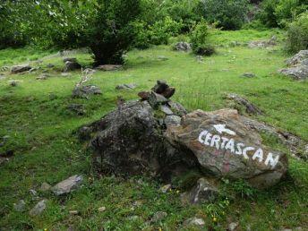 Direction le refuge de Certascan