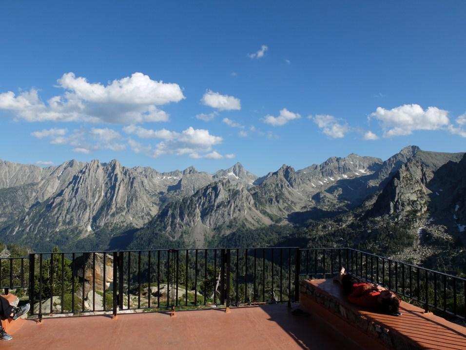 Depuis le refuge d'Amitjès : Les Dolomites ? Non, les Encantats !