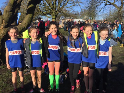 Junior Girls Win School XC Medals