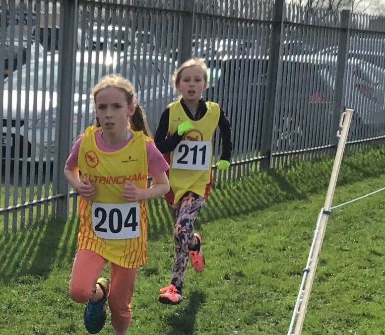 Success at East Cheshire Harriers Open XC Race