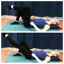 pilates helps knees