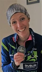 Catherine Allen Dublin Marathon