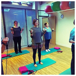 Altrincham Physiotherapy Pilates Class