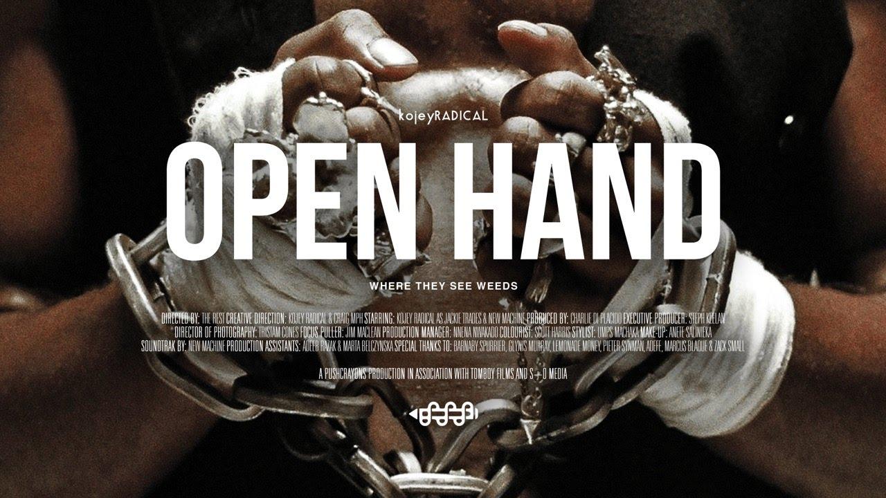 Kojey Radical – Open Hand