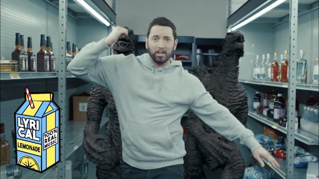 Eminem – Godzilla (Featuring Juice WRLD)