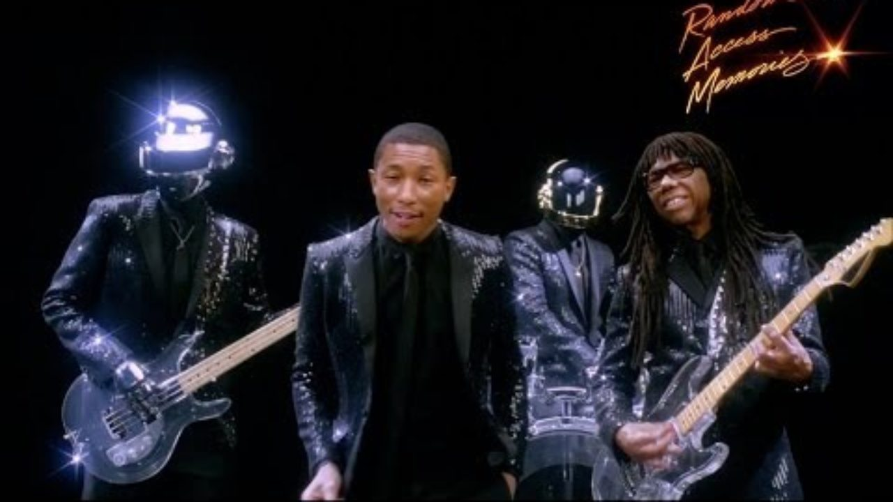Daft Punk – Get Lucky (Feauring Pharrell Williams & Nile Rodgers)