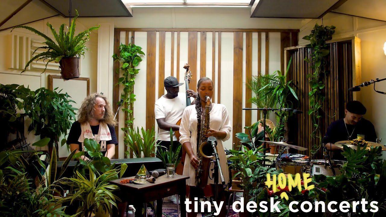 Nubya Garcia – Tiny Desk (Home) Concert