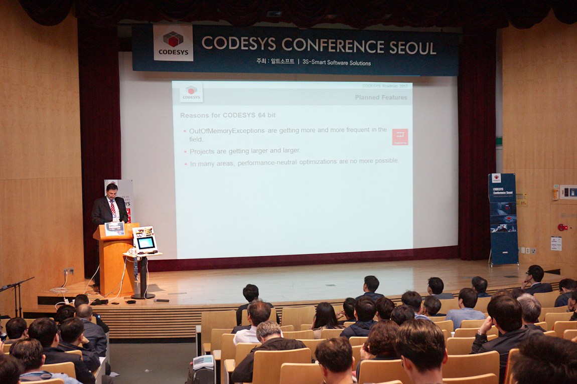 CODESYS Conference 2017 Seoul