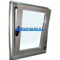ventana ocilo batiente inox