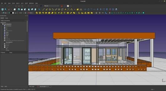 logiciel  ARCHITECTURE 3D