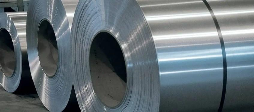 bobines d'aluminium