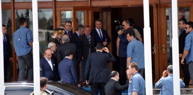Cumhurbaşkanı Erdoğan Ankara'ya döndü!