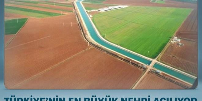 Mardin'e Türkiye'nin en büyük nehri geliyor.