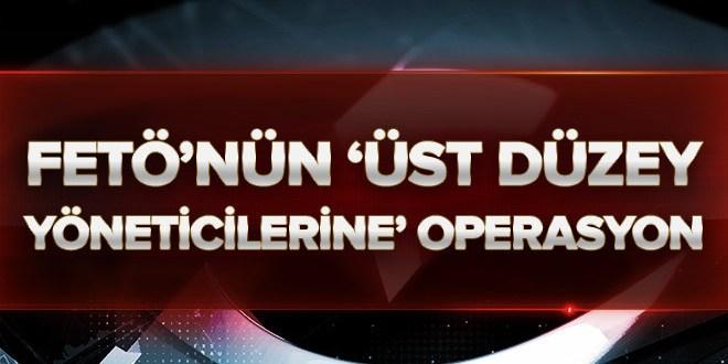 Konya'daki FETÖ operasyonunda 38 tutuklama  .