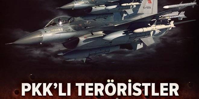 TSK'dan Şemdinli'de PKK'ya hava harekatı: 9 hedef vuruldu  .