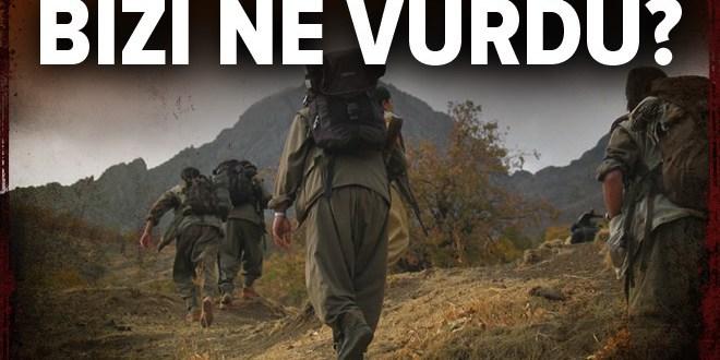 Bayraktar ilk imhasını gerçekleştirdi! Terörist grubunu yok etti.