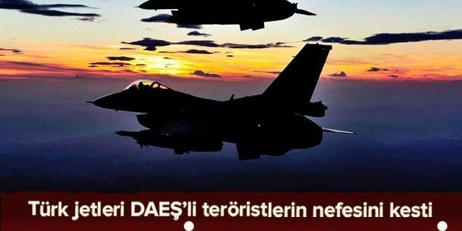 TSK: 20 DAEŞ'li terörist öldürüldü  .