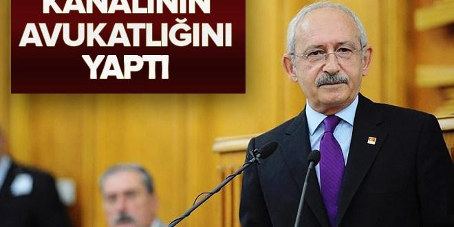 Kemal Kılıçdaroğlu IMC TV'ye sahip çıktı.
