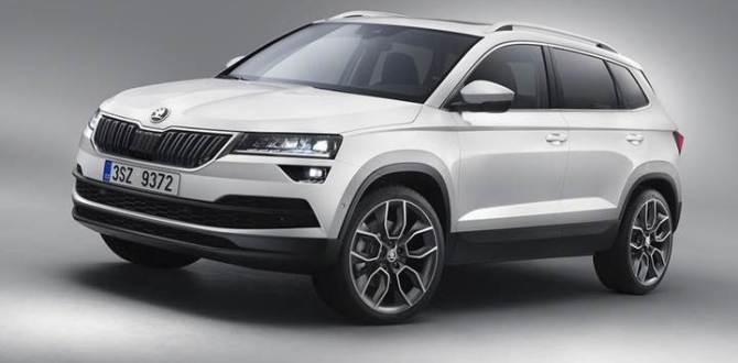 Çek otomotiv üreticisi yeni SUV modelini tanıttı