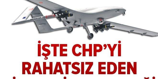 İşte CHP'yi rahatsız eden silahlı İHA gerçeği  GÜNDEM