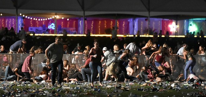 Las Vegas'ta konsere silahlı saldırı.