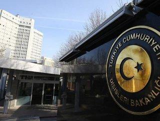 ABD'nin asılsız iddiasına Türkiye'den cevap