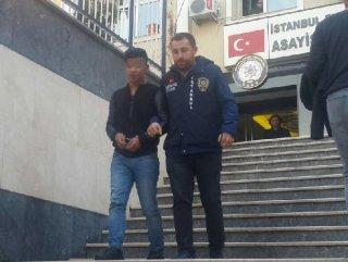 Hırsız 'tükürüğü' incelenerek yakalandı