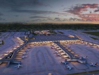 Üçüncü Havalimanı'na 15 bin metrekarelik ilave dolgu