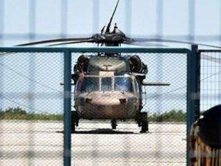 Helikopterlerin mühimmatlarını bir gün önceden taşımışlar