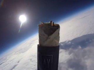 Uzaya kebap gönderen Türk