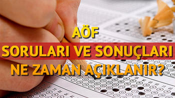 AÖF sınav sonuçları ne zaman hangi gün açıklanacak? Anadolu Üniversitesi tarih verdi mi?