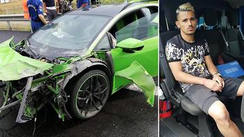 Milli futbolcu Serdar Gürler kaza geçirdi