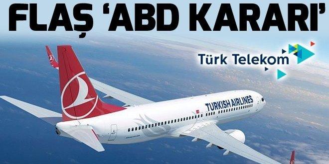 Türk Hava Yolları ve Türk Telekom ABD'li şirketlere reklam vermeyecek