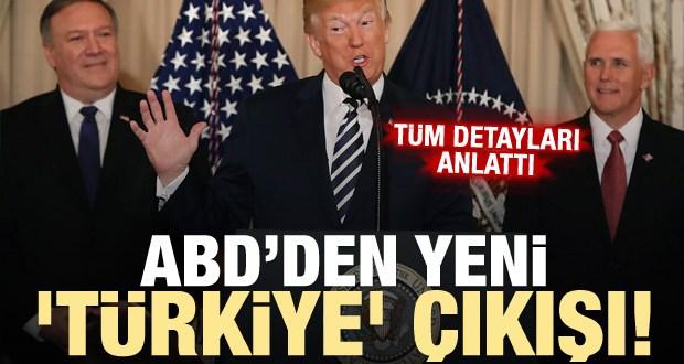 ABD'den yeni 'Türkiye' açıklaması!