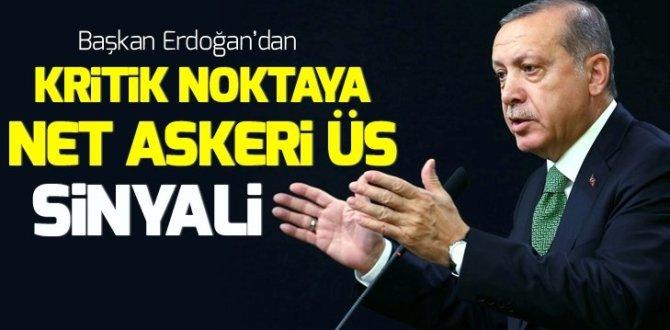 Başkan Erdoğan: İhtiyaç duyacak olursak KKTC'ye deniz üssü kurabiliriz!