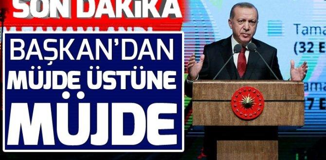 Son dakika: Başkan Erdoğan, 'İkinci 100 Günlük Eylem Planı'nı açıklıyor