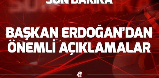 Son dakika: Başkan Erdoğan'dan Muş'ta önemli açıklamalar