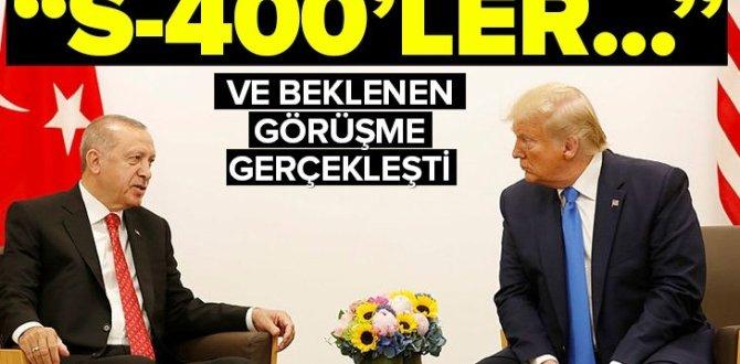 Son dakika: Başkan Erdoğan ile ABD Başkanı Trump bir araya geldi.