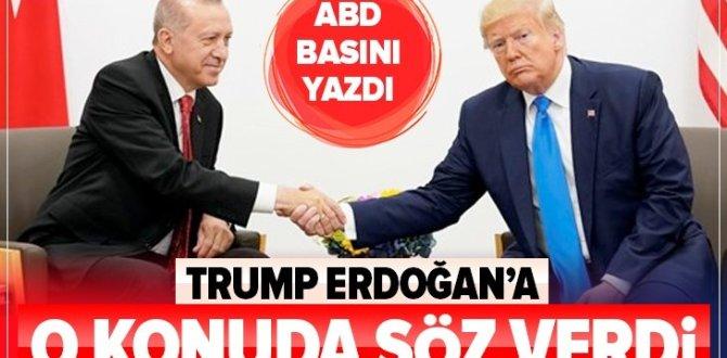 """ABD Basını: Trump Erdoğan'a """"Yaptırım yok"""" sözü verdi"""