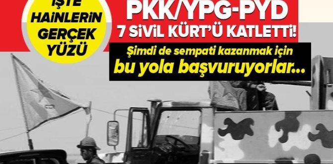 PKK/YPG- PYD, Resulayn'da Kürtleri öldürdü! Örgüt yalan haberlerle sempati kazanmaya çalışıyor .