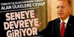 Türkiye'ye silah satmama kararı alan ülkelere 'HİSAR-A'lı cevap | Başkan Erdoğan'dan HİSAR-A müjdesi .