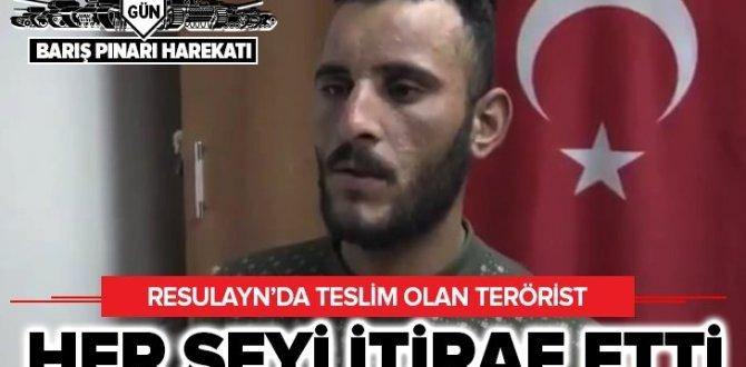 'Barış Pınarı' harekatında teslim olan PKK'lı terörist itiraf etti: Ya bize katılırsın ya da…