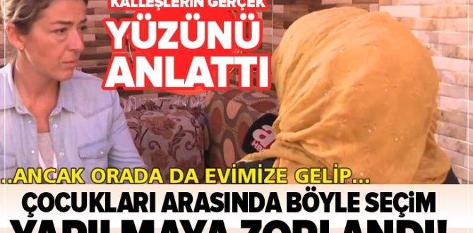 Çocuğu PKK/YPG tarafından kaçırılan anne A haber'e konuştu .