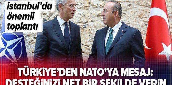 SON DAKİKA: Mevlüt Çavuşoğlu ile Jens Stoltenberg'ten İstanbul'da flaş açıklamalar .