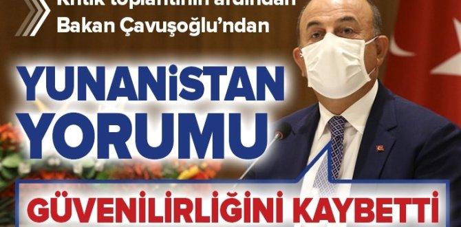 Son dakika: Dışişleri Bakanı Mevlüt Çavuşoğlu'ndan Akdeniz açıklaması