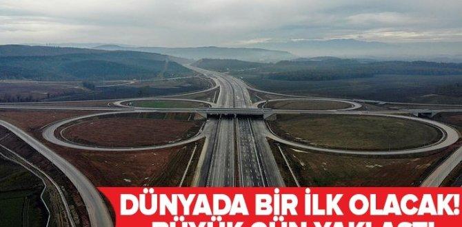 Kuzey Marmara Otoyolu güzergahı | Havadan böyle görüntülendi! Dünyada bir ilk olacak