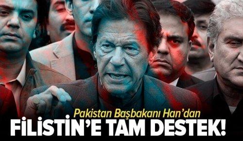 Pakistan'dan Filistin'e tam destek!