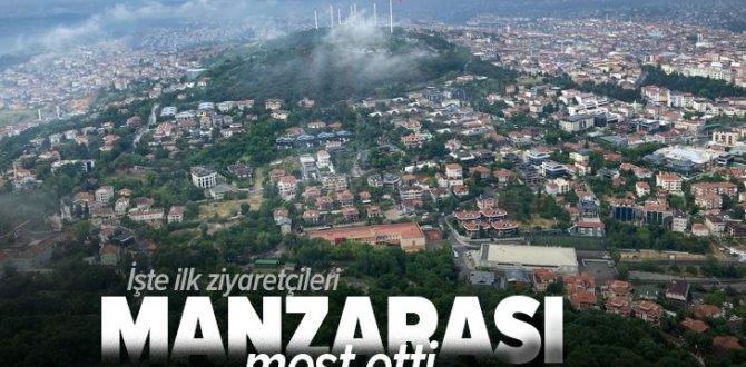 Son dakika: İstanbul'un en yüksek yapısı Çamlıca Kulesi'nin manzarası mest etti! İlk ziyaretçileri gazeteciler oldu