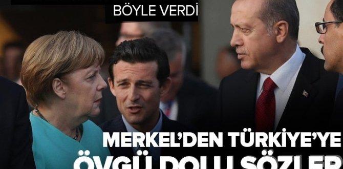 Almanya Başbakanı Merkel'den Türkiye'ye övgü dolu sözler! Yeni bir dönemin sinyallerini bu sözlerle verdi.