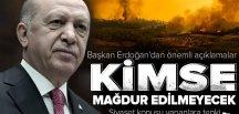 Son dakika: Başkan Recep Tayyip Erdoğan'dan cuma namazı çıkışı önemli açıklamalar.